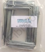 100 Galvanised Fixing Pins 150mm x 100mm x 150mm